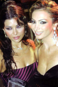 Amal Hijazi and Haifa Wehbe