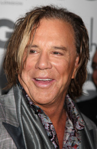 Mickey Rourke arrives at the red carpet of 2009 GQ Men Of The Year Awards on September 8th, 2009
