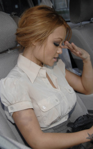 latest pictures of Tila Tequila as she was spotted leaving a Beverly Hills hotel on September 10th 2009 1