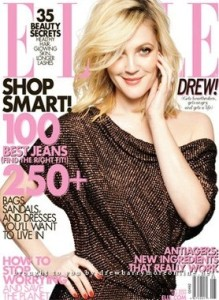 Drew Barrymore photo soots for the May 2009 issue of Elle magazine 8