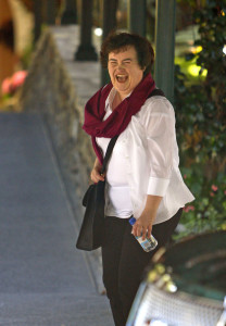 Susan Boyle pictures as she arrives at the Hotel Be Air yesterday on September 12th 2009 23