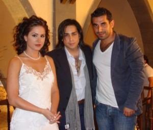Dima Qandalaft TV talk show interview 3