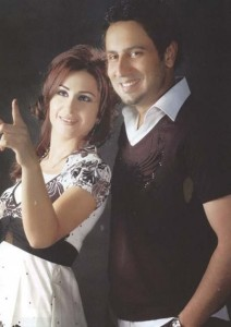 Dima Qandalaft with her co actor