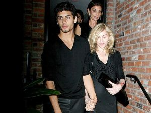 photo of Madonna and Jesus Luz hand in hand as they arrive at the Boom Boom Room Fashion Week launch held at the Standard Hotel in New York on September 13th 2009 6
