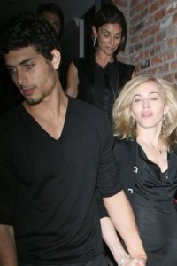 photo of Madonna and Jesus Luz hand in hand as they arrive at the Boom Boom Room Fashion Week launch held at the Standard Hotel in New York on September 13th 2009 5