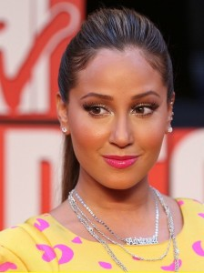Adrienne Bailon arrives at the 2009 MTV Video Music Awards at Radio City Music Hall on September 13th 2009 in New York City 4