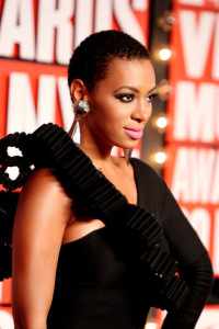 Solange Knowles at the 2009 MTV Video Music Awards at Radio City Music Hall on September 13th 2009 in New York City
