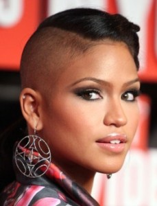 Cassie arrives at the 2009 MTV Video Music Awards at Radio City Music Hall on September 13th 2009 in New York City