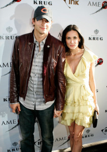 Ashton Kutcher and Demi Moore attend the The Joneses screening after party during the Toronto International Film Festival on September 13th 2009 in Toronto Canada 2