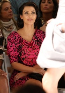 Kim Kardashian picture at the Tracy Reese Spring 2010 Fashion Show September 14th 2009 5