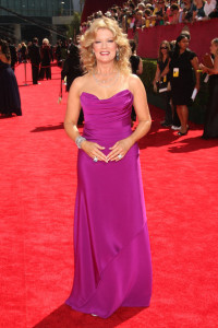 Mary Hart arrives at the 61st Primetime Emmy Awards held at the Nokia Theatre on September 20th 2009 in Los Angeles