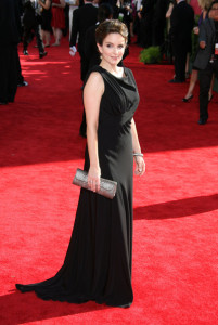 Tina Fey arrives at the 61st Primetime Emmy Awards held at the Nokia Theatre on September 20th 2009 in Los Angeles