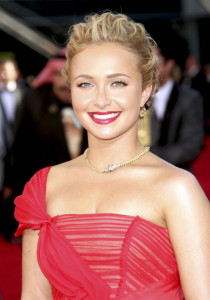 Hayden Panettiere arrives at the 61st Primetime Emmy Awards held at the Nokia Theatre on September 20th 2009 in Los Angeles