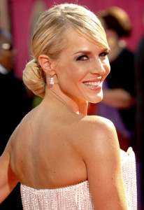 Julie Benz arrives at the 61st Primetime Emmy Awards held at the Nokia Theatre on September 20th 2009 in Los Angeles