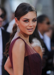 Mila Kunis at the 61st Primetime Emmy Awards held at the Nokia Theatre on September 20th 2009