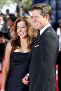 Alyson Hannigan and Alexis Denisof arrive at the 61st Primetime Emmy Awards held at the Nokia Theatre on September 20th 2009 in Los Angeles