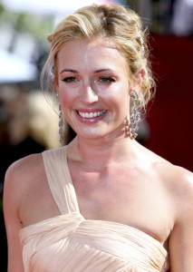 Cat Deeley arrives at the 61st Primetime Emmy Awards held at the Nokia Theatre on September 20th 2009 in Los Angeles
