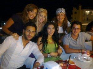 Rym Ghezali with Amal Bshosha Mirhan Hussein and Nader Quiratt