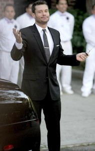 Ryan Seacrest arrives at Khloe Kardashian and Lamar Odom wedding reception held at the couples residence in Beverly Hills on September 27th 2009 4