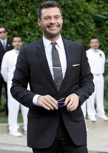 Ryan Seacrest arrives at Khloe Kardashian and Lamar Odom wedding reception held at the couples residence in Beverly Hills on September 27th 2009 2