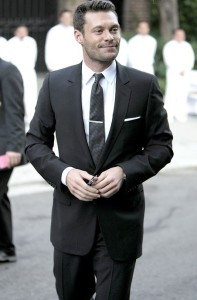 Ryan Seacrest arrives at Khloe Kardashian and Lamar Odom wedding reception held at the couples residence in Beverly Hills on September 27th 2009 1