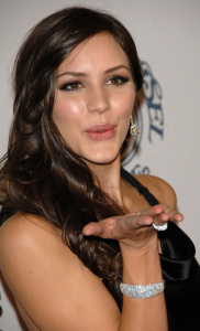 Katharine McPhee arrives at the 30th Anniversary Carousel of Hope Ball to benefit the Barbara Davis Center for Childhood Diabetes on October 25th 2008 1