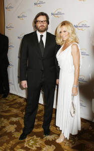 Jim Carrey and Jenny McCarthy were spotted at 2009 UCLA Department of Neurosurgerys Visionary Ball held at the Beverly Wilshire Four Seasons Hotelin in Beverly Hills on October 1st 2009 1