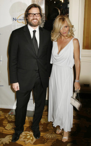 Jim Carrey and Jenny McCarthy were spotted at 2009 UCLA Department of Neurosurgerys Visionary Ball held at the Beverly Wilshire Four Seasons Hotelin in Beverly Hills on October 1st 2009 2