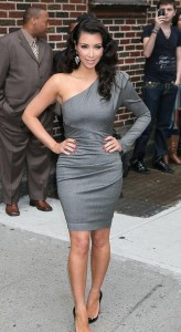 Kim Kardashian spotted arriving at The Late Show with David Letterman in New York City on October 1st 2009 5