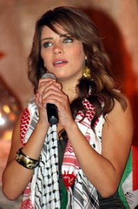 Diala Odah during the Star Academy concert as part of the yearly Shabib Festival 2009 in Amman Jordan 7