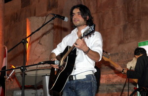 Zaher Zorgatti photo during the Star Academy concert as part of the yearly Shabib Festival 2009 in Amman Jordan 1