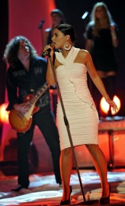Nelly Furtado picture while performing at the Wetten Dass Show in Germany on October 3rd 2009 3