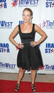 Melissa Joan Hart arrives at A Night of Honour on October 4th 2009 1