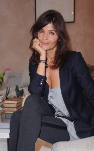 Helena Christensen was spotted inside the new Habitat Regent Street boutique in London England on October 5th 2009 6