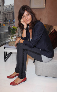 Helena Christensen was spotted inside the new Habitat Regent Street boutique in London England on October 5th 2009 1