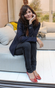 Helena Christensen was spotted inside the new Habitat Regent Street boutique in London England on October 5th 2009 8