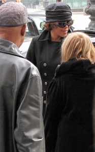 Whitney Houston was spotted arriving at the Ritz Hotel in Paris France on October 5th 2009 2