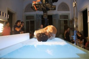 Bashar Ghazawi new picture during the filming of his new video clip song in October 2009