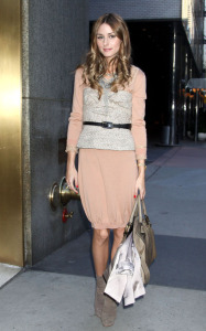 Olivia Palermo seen at the PIX11 Morning News Show where she promoted the new season of the MTV reality series The City in New York City on October 6th 2009 1