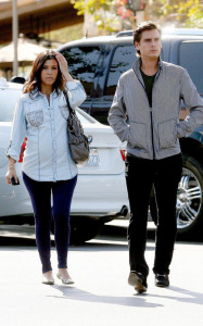Kourtney Kardashian and her boyfriend Scott Disick spotted at the Marmalade Cafe in Los Angeles on October 8th 2009 5