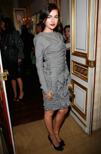 Camilla Belle attends the Louis Vuitton fashion show after party on October 7th 2009 3
