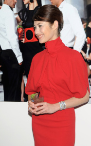 Olga Kurylenko attends the 2010 Campari Calendar Cocktail Party in Milan Italy on October 8th 2009 5