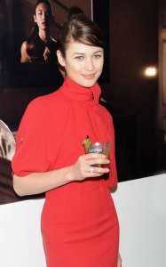 Olga Kurylenko attends the 2010 Campari Calendar Cocktail Party in Milan Italy on October 8th 2009 4