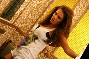 Nicole Saba picture from her new video clip Fares Ahlami 8
