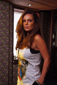 Nicole Saba picture from her new video clip Fares Ahlami 2