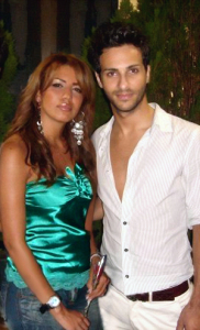 amal bshoshah picture with Zaher Saleh from Palestine 2