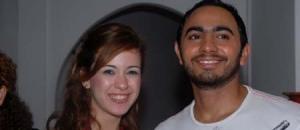 Khawla and Tamer Hosni meeting together 2