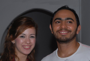 Khawla and Tamer Hosni meeting together 8