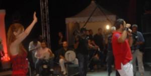 Khawla and Tamer Hosni meeting together 7