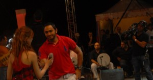 Khawla and Tamer Hosni meeting together 4